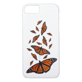 (昆虫)オオカバマダラ、モナークのメドレーのiPhone 7の場合(色を選んで下さい) iPhone 8/7ケース