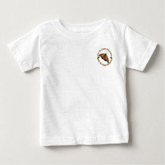 (昆虫)オオカバマダラ、モナークの歓喜 ベビーTシャツ
