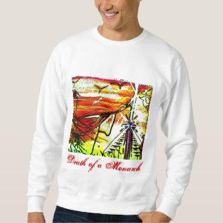 (昆虫)オオカバマダラ、モナークの死 スウェットシャツ