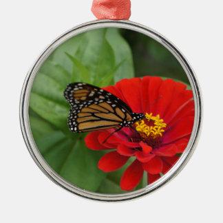 (昆虫)オオカバマダラ、モナークの美しい メタルオーナメント