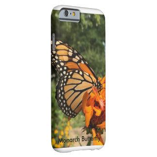 (昆虫)オオカバマダラ、モナークの電話箱 BARELY THERE iPhone 6 ケース