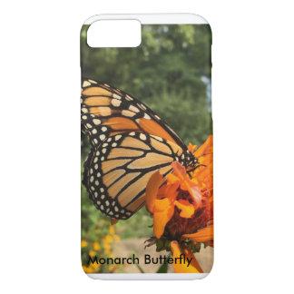 (昆虫)オオカバマダラ、モナークの電話箱 iPhone 8/7ケース