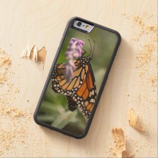 (昆虫)オオカバマダラ、モナークのDanaus Plexippus CarvedメープルiPhone 6バンパーケース