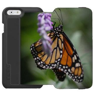 (昆虫)オオカバマダラ、モナークのDanaus Plexippus Incipio Watson™ iPhone 6 ウォレットケース