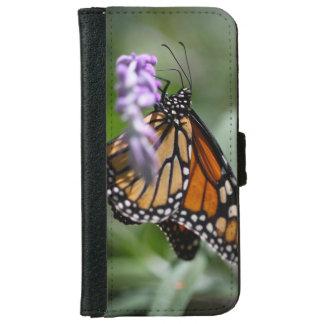 (昆虫)オオカバマダラ、モナークのDanaus Plexippus iPhone 6/6s ウォレットケース
