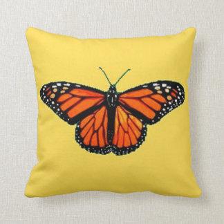 (昆虫)オオカバマダラ、モナークのSharles著オレンジ蝶クッション クッション
