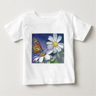 (昆虫)オオカバマダラ、モナーク及びデイジー ベビーTシャツ
