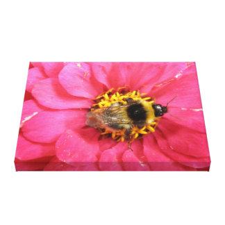 《昆虫》マルハナバチのキャンバスのプリント キャンバスプリント