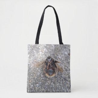 《昆虫》マルハナバチのバッグ トートバッグ