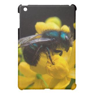 《昆虫》マルハナバチの受粉 iPad MINI カバー