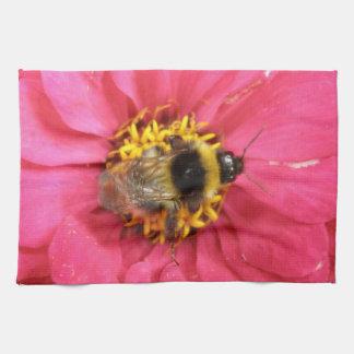 《昆虫》マルハナバチの台所タオル キッチンタオル