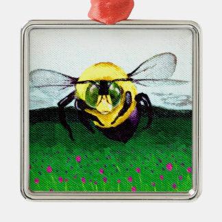 《昆虫》マルハナバチの芸術 メタルオーナメント