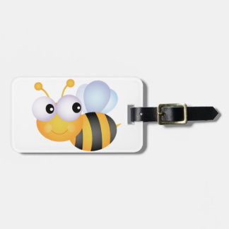 《昆虫》マルハナバチの荷物のラベル ラゲッジタグ