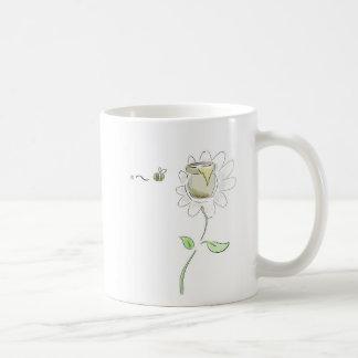 《昆虫》マルハナバチの蜂蜜のマグ コーヒーマグカップ