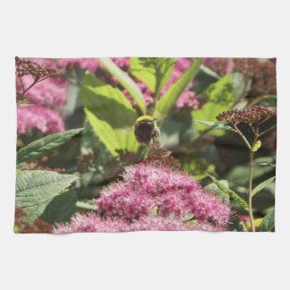 《昆虫》マルハナバチの飛行 キッチンタオル