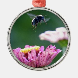 《昆虫》マルハナバチの飛行 メタルオーナメント