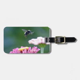 《昆虫》マルハナバチの飛行 ラゲッジタグ