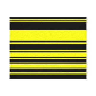 《昆虫》マルハナバチは縞で飾ります キャンバスプリント