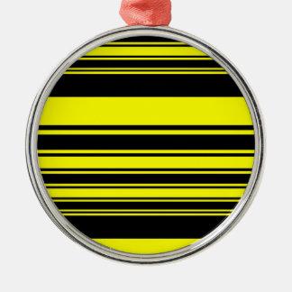 《昆虫》マルハナバチは縞で飾ります シルバーカラー丸型オーナメント