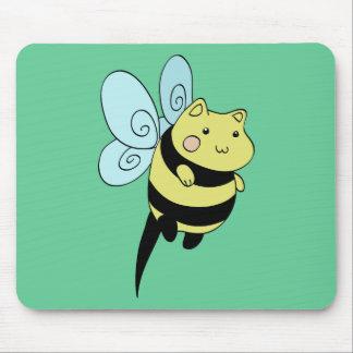 《昆虫》マルハナバチ猫 マウスパッド