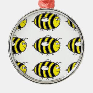 《昆虫》マルハナバチ シルバーカラー丸型オーナメント