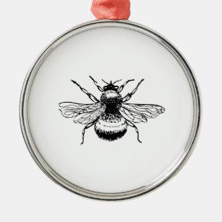 《昆虫》マルハナバチ メタルオーナメント