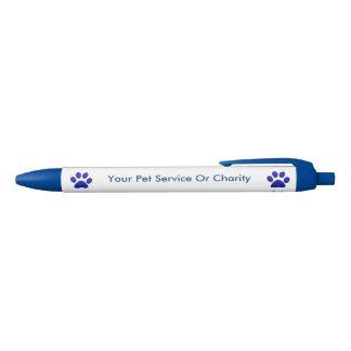 昇進ペットサービスシンプル 青ボールペン