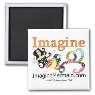 昇進ImagineMermaid.com マグネット