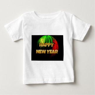明けましておめでとうのイメージ ベビーTシャツ