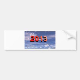 明けましておめでとう2013年 バンパーステッカー