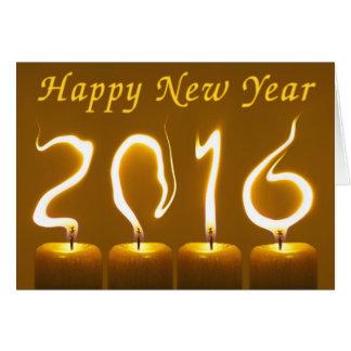明けましておめでとう2016年-年賀状 カード