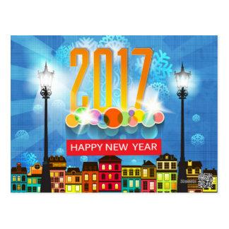 明けましておめでとう2017年 ポストカード