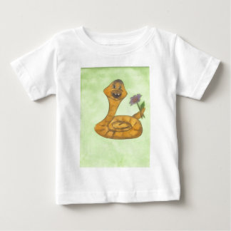 明けましておめでとう、蛇 ベビーTシャツ