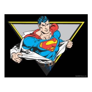 明らかにされるスーパーマン ポストカード