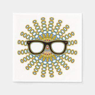 明るいおたくガラス + あなたのbackgr。 及びアイディア スタンダードカクテルナプキン