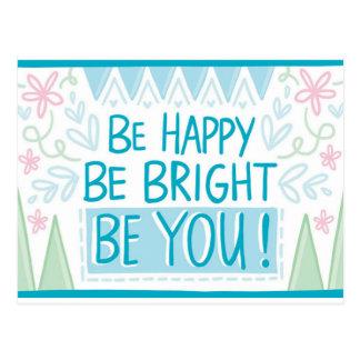 明るいがあって下さい、幸せがあって下さい、感動的な-あって下さい ポストカード