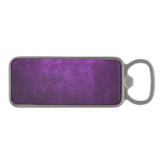明るいの抽象的な紫色の背景か紙 マグネット栓抜き