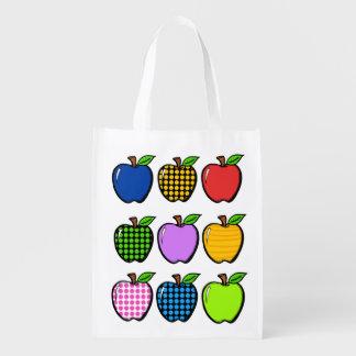 明るいりんご食料雑貨、ギフト、好意のバッグ- SRF エコバッグ