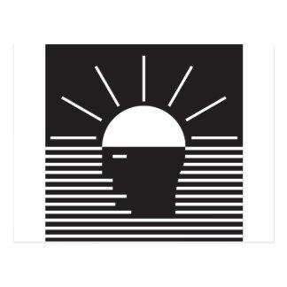 明るいアイディアのフラッシュ ポストカード