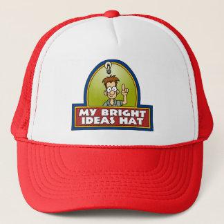 明るいアイディアの帽子 キャップ