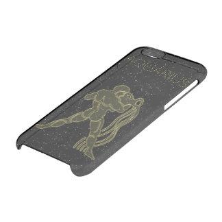 明るいアクエリアス クリアiPhone 6/6Sケース