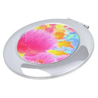 明るいアサツキのイメージの円形の密集した鏡