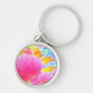 明るいアサツキのイメージ1の優れた小さい円Keychain キーホルダー