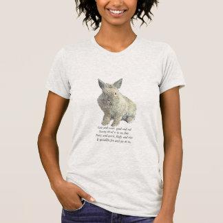 明るいウサギ Tシャツ