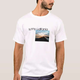 明るいカリフォルニア Tシャツ