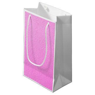 明るいショッキングピンクネオン粋な色 スモールペーパーバッグ