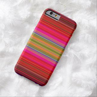 明るいストライプ iPhone 6 ベアリーゼアケース