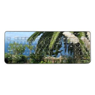 明るいテネリフェ島 ワイヤレスキーボード