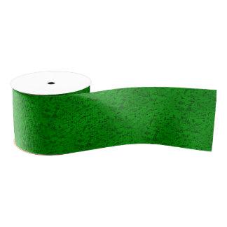 明るいネオン緑のコルクの吠え声の一見木穀物 グログランリボン