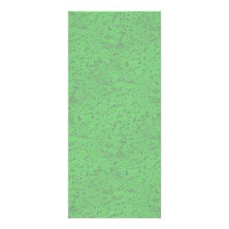 明るいネオン緑のコルクの吠え声の一見木穀物 ラックカード